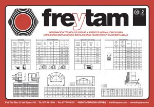 Freytam informacion técnica